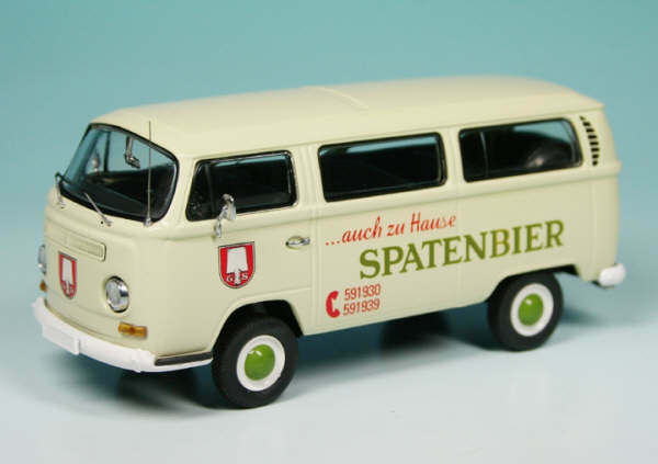 VERY RARE SCHUCO VW T2 VAN SPATENBIER 2009 CLUB MODEL 1 43 NEW BOXED 1 OF 125