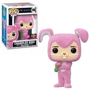 Funko POP TV Friends Chandler Bing Bunny Flocked Target Con Exclusive - In Stock