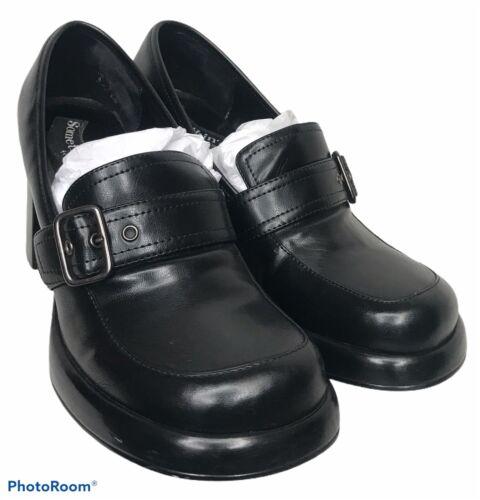 VTG 90s Skechers Womens 8 Chunky Sole Heels Platfo