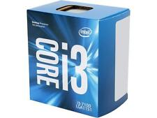 Intel Core i3 7100 Desktop Processor 7th Gen Kaby Lake LGA1151 3.9 GHz, 3M