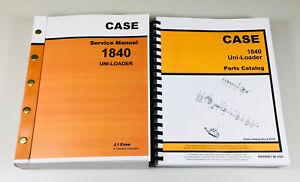 case 1840 uni loader skid steer service manual parts catalog shop rh ebay com Case 1840 ManualDownload Case 1840 Auxiliary Hydraulics