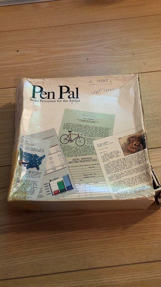 SOLGT : Pen pal. Word processor for the Amiga, Amiga Program