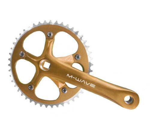 Guarnitura per Bicicletta Scatto Fisso Fixed Oro