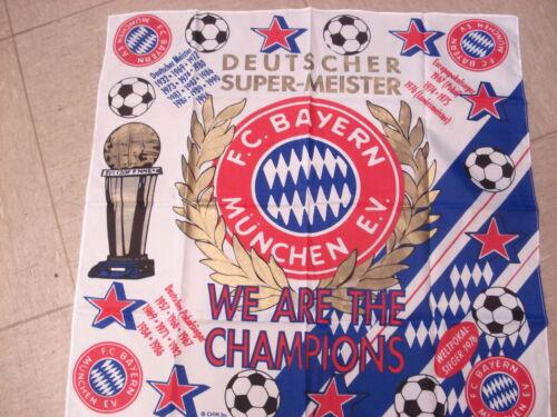 Halstuch m.d.Erfolgen bis 1994 FC Bayern München  Fussball Fanartikel