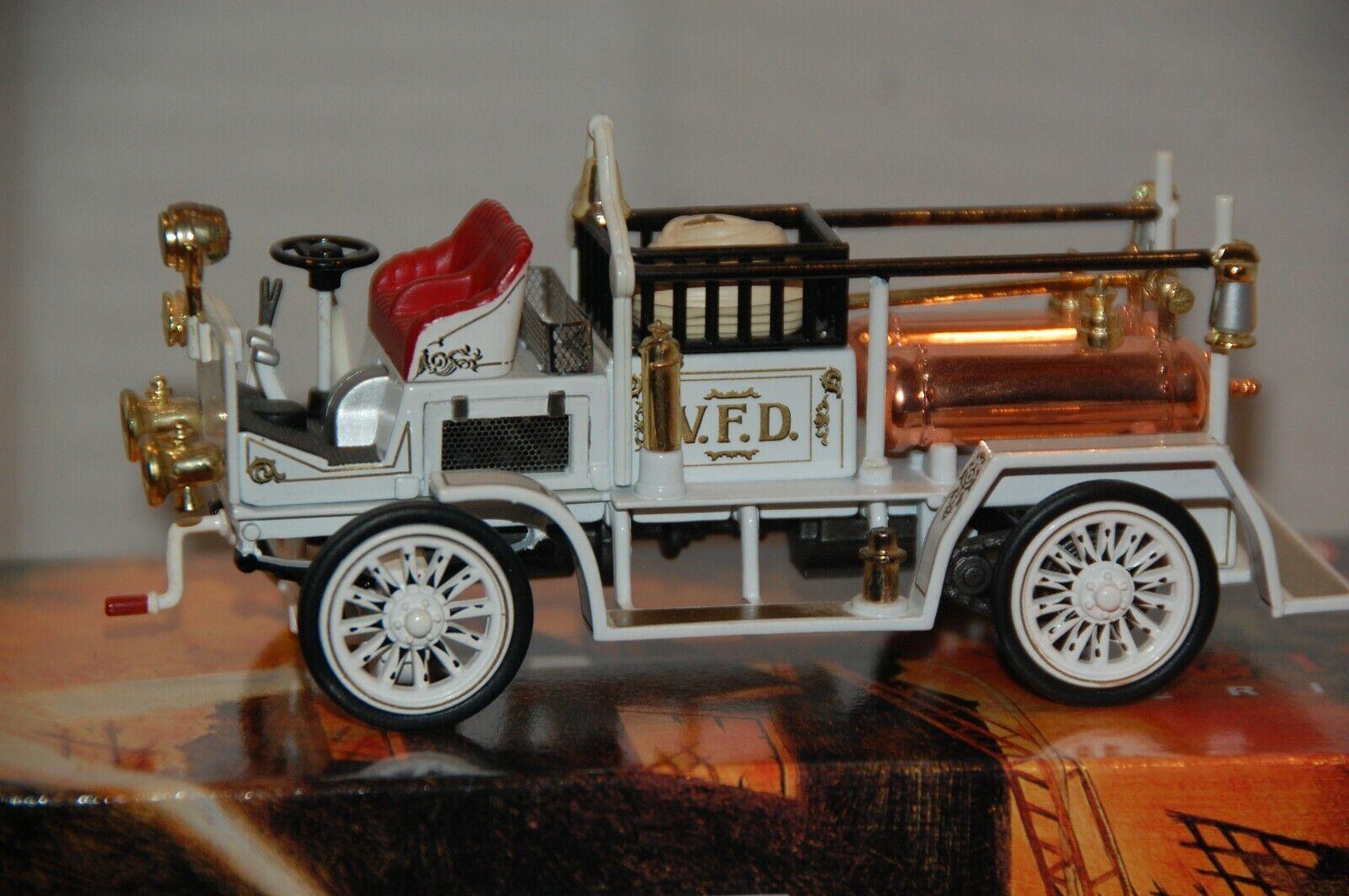 Matchbox Matchbox Matchbox White Fire Engine Series YFE21-M 1907 Seagrave AC53 83dff7