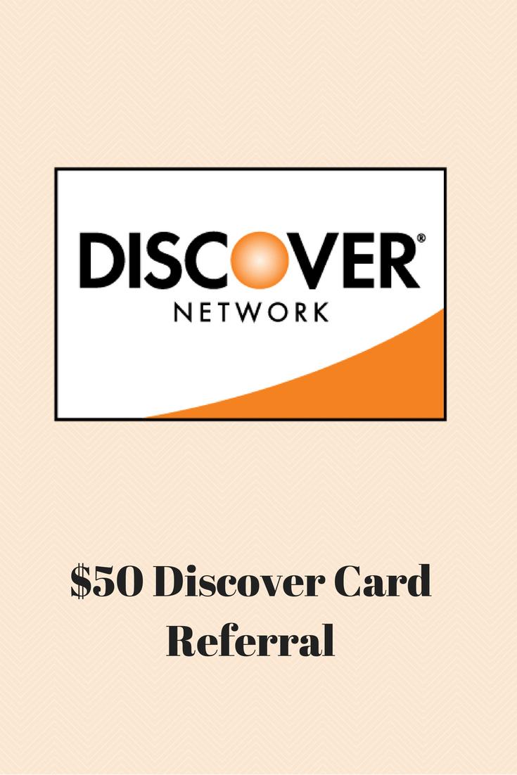 FREE $10 Bonus Cash for New Discover Credit Card Members via Refer a Friend