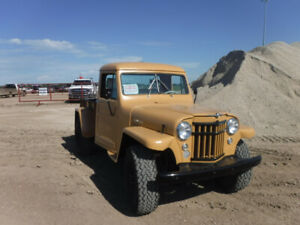 1956 Wiily's / Jeep truck for sale
