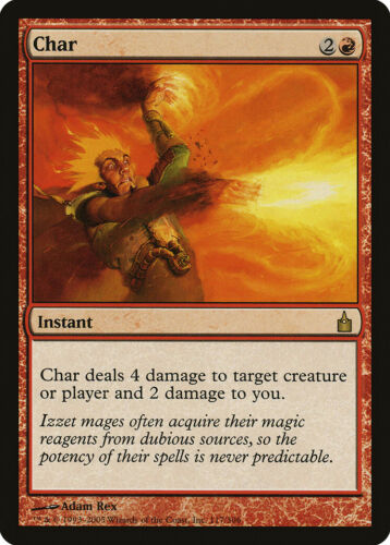 City of Guilds NM-M Red Rare MAGIC THE GATHERING MTG CARD ABUGames Char Ravnica