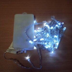 Lichterkette 10 20 30 50 er LED Batterie weiß kaltweiß warmweiß weiss blau