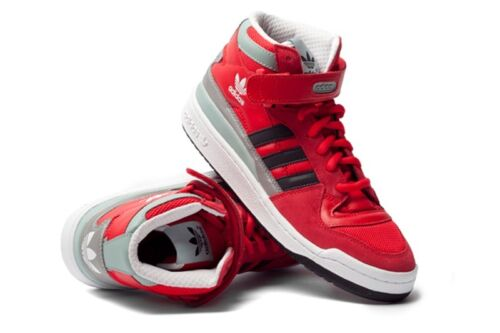 Uk Mid Trainers Adidas Size 5 Red Originals Forum Winterize rrBXxn
