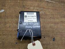 03 04 05 06 07 CTS 04-06 SRX BODY CONTROL MODULE BCM BCU UNIT K6020