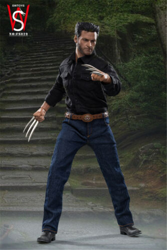 SWTOYS 1//6 Scale Hugh Jackman Wolverine Young Logan 12inches Figure Model