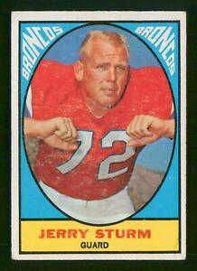JERRY STURM 1967 TOPPS 67 NO 39 VG  32350