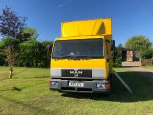 Man 8.153 6 berth Race Truck Motorhome Camper MX/QUAD/Kart/small Car-huge garage