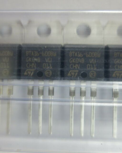 btb16-700bw STM TRIAC 700v 16a 50ma to220 NEW 1 PC