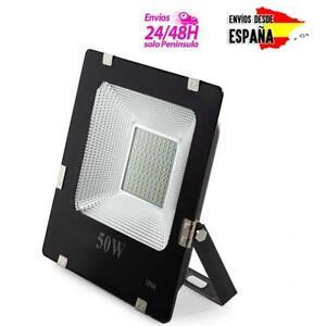 Foco-proyector-ECO-luz-LED-para-interior-exterior-blanco-frio-30-50-100-150-200W