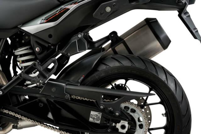 PARAFANGO POSTERIORE PUIG PER KTM 1290 R/S SUPER ADVENTURE 2020 NERO OPACO