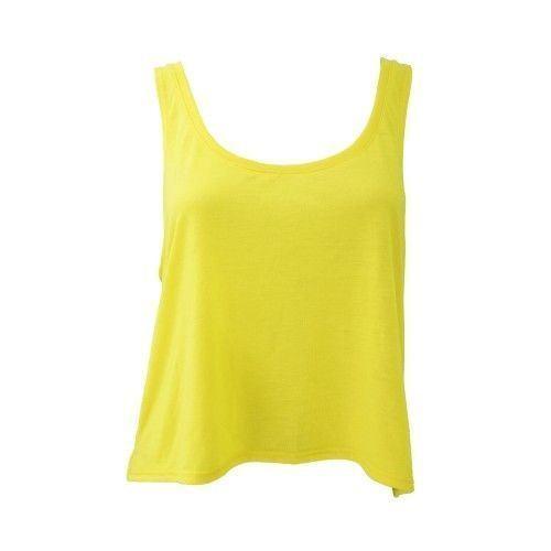 Bella Canvas-Para Mujer T-Shirt Flowy Boxy Camiseta sin mangas Señoras Corto Top-S M L XL