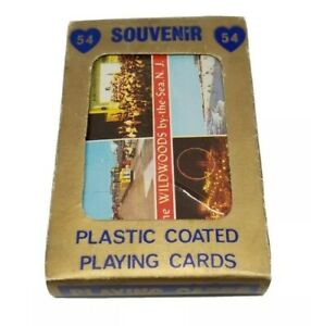 The-Wildwoods-by-the-Sea-New-Jersey-Souvenir-Playing-Cards-Sealed-Deck-NOS