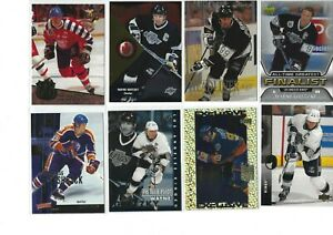 WAYNE-GRETZKY-36-different-Hockey-cards-LOT-with-inserts-L-k