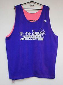 1e3cfe9b8 Image is loading Champion-Basketball-NBA-Training-Vest-Shirt-Jersey-Double-
