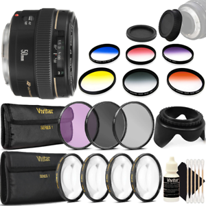 Canon-EF-50mm-f-1-4-USM-Lens-58mm-Accessory-Kit-for-Canon-T7-T7i-T6