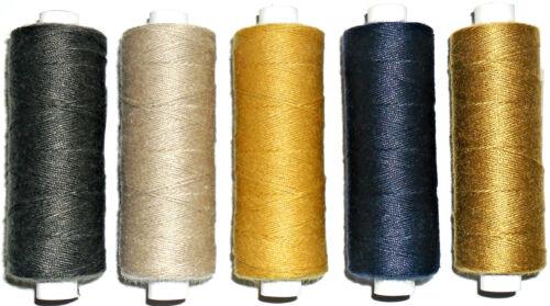 160mtr Carrete Calidad Superior 25/'s Jean reparación Hilo poly//cotton Varios Colores