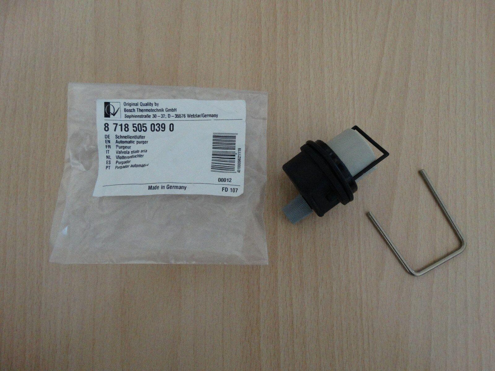 Bosch Schnellentlüfter Junkers Schnellentlüfter Nr. 8 718 505 039 0