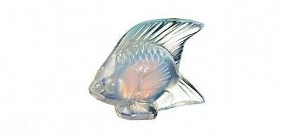 Lalique Crystal (Brand New) - Fish Figurine : Opalescent Lustre 10307700