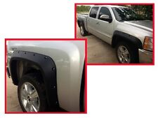 POCKET STYLE FENDER FLARES 07-13 CHEVY SILVERADO REG/EXTENDED CAB 6.5' / 8' BED