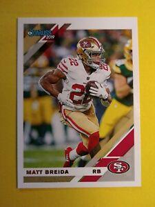 Matt Breida San Francisco 49ers 2019 Donruss card #221 *Wild RB*