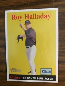 2007 Topps Heritage  #118 Roy Halladay Toronto Blue Jays  NrMt