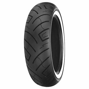 Shinko-140-80-17-69H-777-Front-Motorcycle-Tire-White-Wall-for-Honda-Street