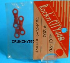 x2 VINTAGE HIROBO E rotules courtes ROCKN/'CITY