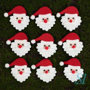 20 cute santa claus ornament fabric xmas craft - Santa Claus Craft