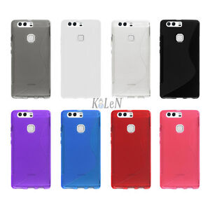 outlet 61e4f fe7d4 Details about Case For Huawei P9 Plus VIE-L09 VIE-L29 S Line Gel TPU  Silicone Cover Skin Shell