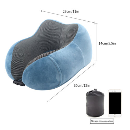 Memory Foam Travel U Shaped Pillow