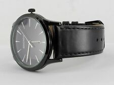 Sekonda 3536 Caballeros Estuche Negro Esfera Azul Analógica clásica Fecha Reloj Correa Negra