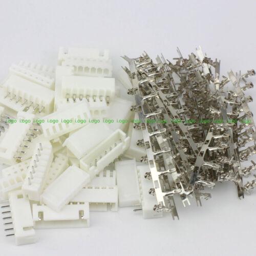 10 pares 7Pin JST-XH 2.5 2.54MM conector macho hembra pines FR baterías Li-Poly