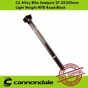 Cannondale-C3-Alloy-Seatpost-27-2x350mm-for-MTB-Road-Bike-Offset-Light-Weight