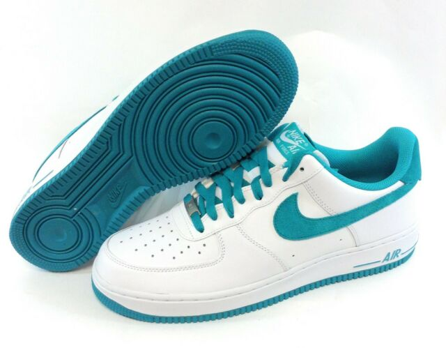 nike air force white and green