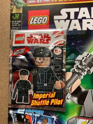 Lego Star Wars Magazin Nr 32 Imperial Shuttle Pilot #11G1
