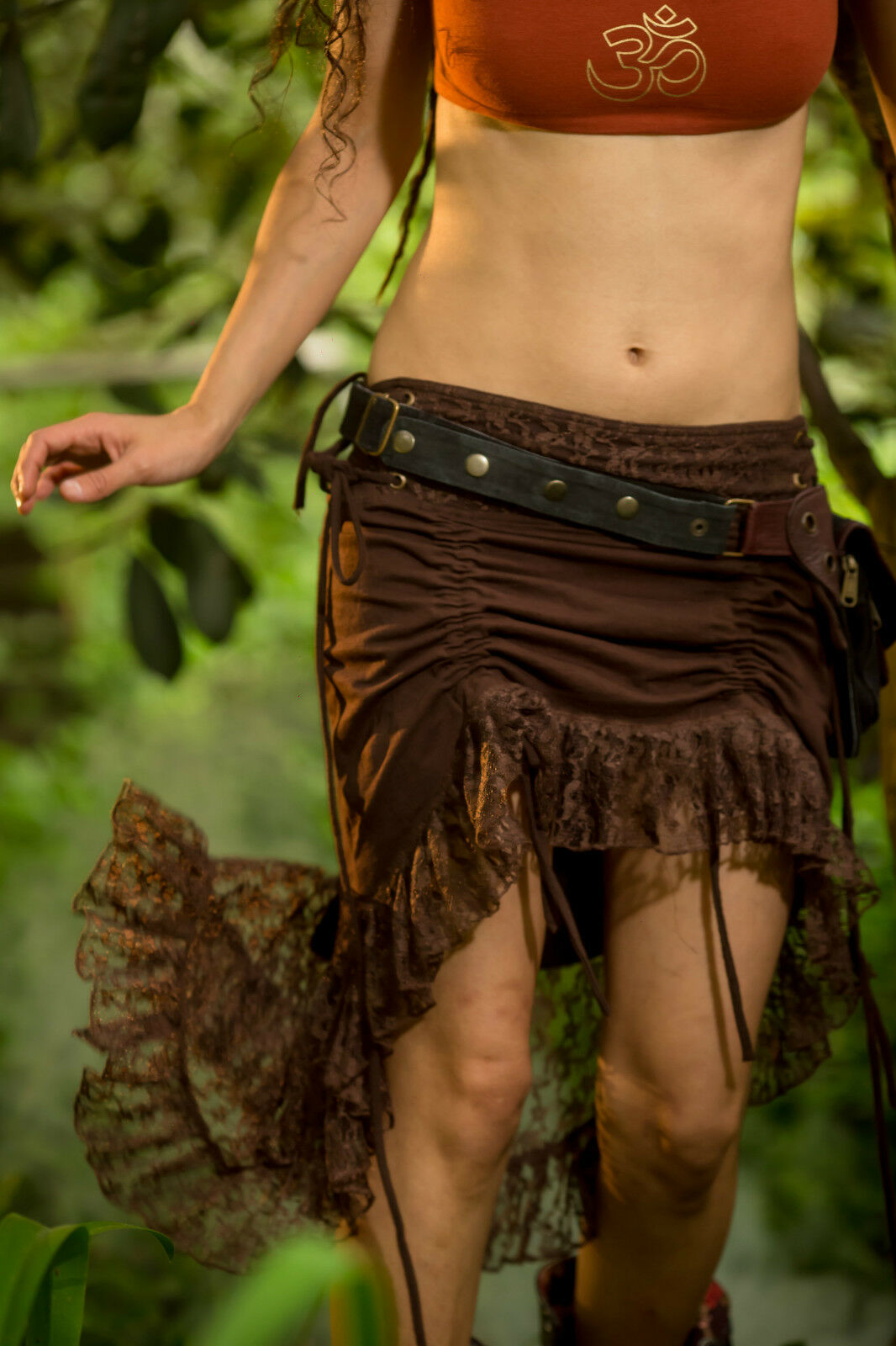 Sita Skirt - Bohemian Gypsy Hippie Fairy Jungle Wild Sexy Adjustable Festival