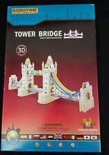 Sealed 3D Robotime Wood Puzzle Wooden Model London Tower Bridge England