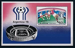 60751-Korea-1977-World-Cup-Soccer-Football-Argentina-MNH-Sheet