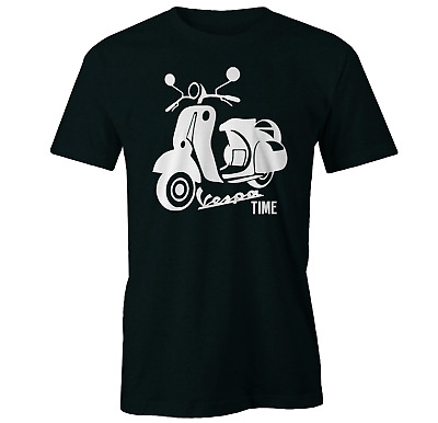 Ride With Me Mens Funny Scooter T-Shirt Moped Vespa Mod