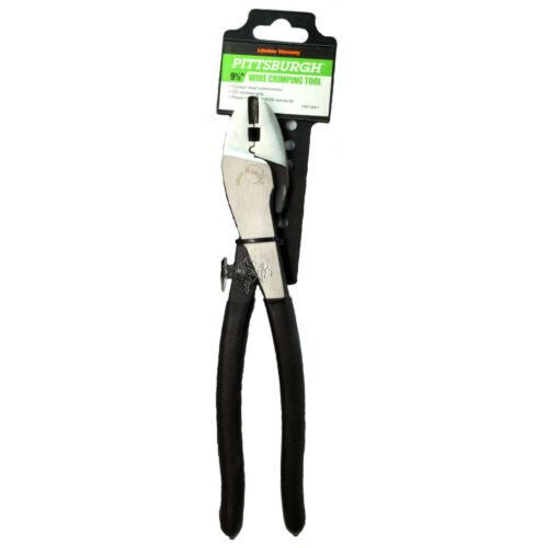 W1-1 PITTSBURGH 36411  Wire Crimping Tool Heavy Duty 9-1//2 inch NEW Hand Tools