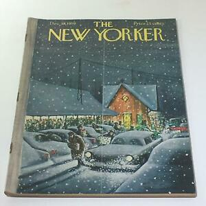 The-New-Yorker-December-19-1959-Full-Magazine-Theme-Cover-Charles-Saxon