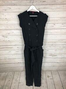705ea8c866f2 TED BAKER Jumpsuit - Size 2 UK10 - Black - Great Condition - Women s ...