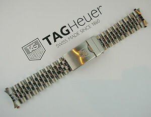 TAG-HEUER-Bracciale-Ricambio-Originale-Swiss-Made-Come-Nuovo